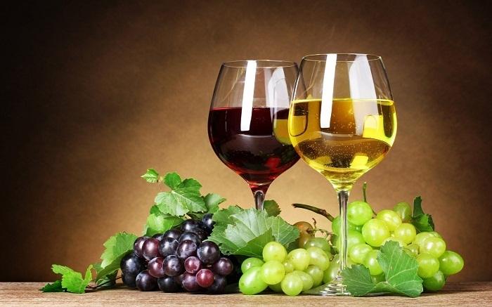 rượu nho nguyên chất