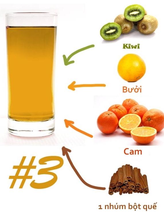 top 5 cách pha nước detox