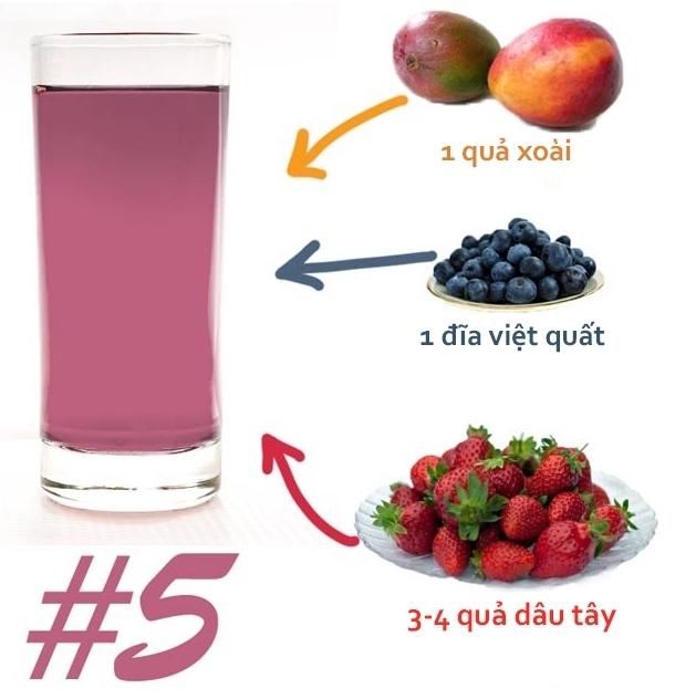 hướng dẫn pha nước detox giảm cân