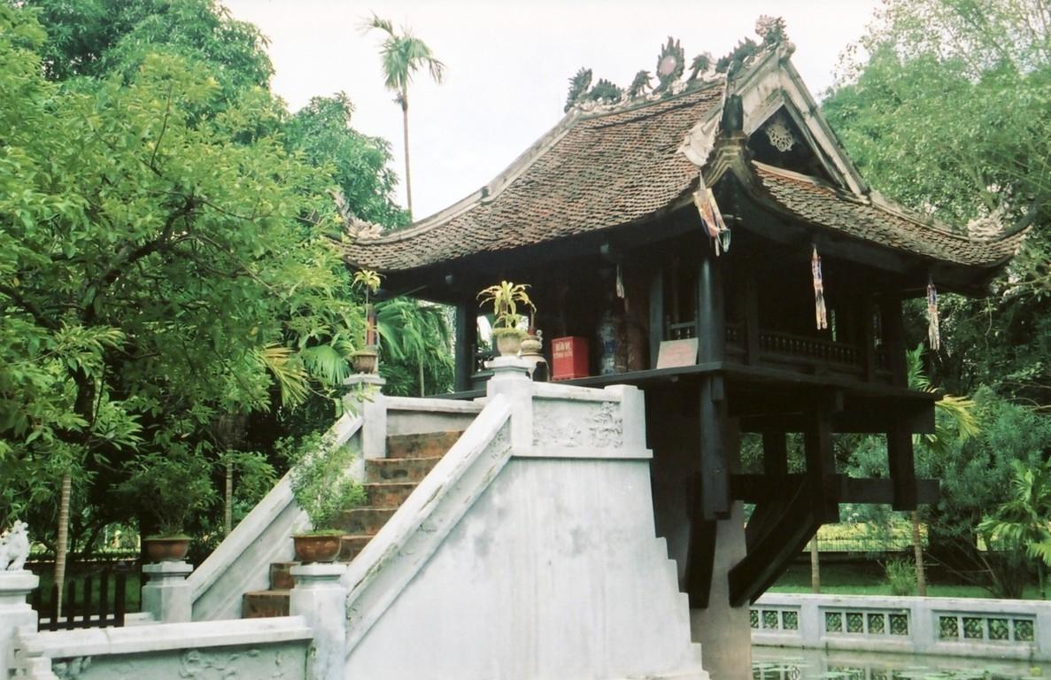 địa điểm du lịch hà nội chùa một cột