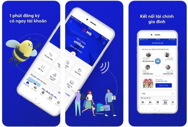 đăng ký tài khoản mb bank online qua app điện thoại