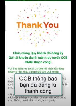 làm thẻ ngân hàng online OCB