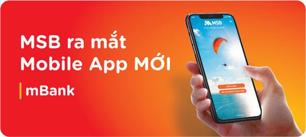 cách đăng ký tài khoản MSB online qua app