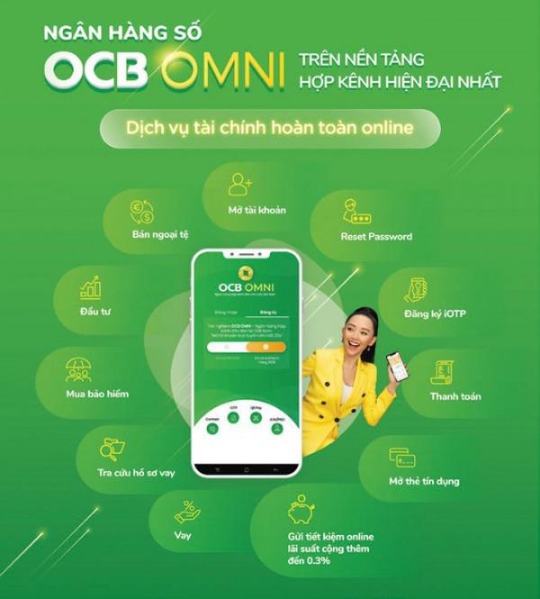 đăng ký internet banking OCB trực tuyến
